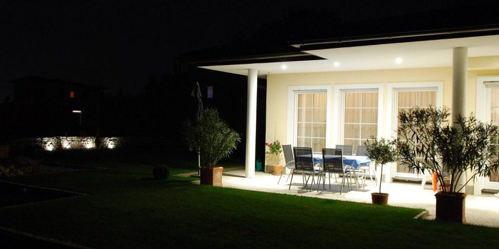 Außenbeleuchtung , Haus, modern, Produkt
